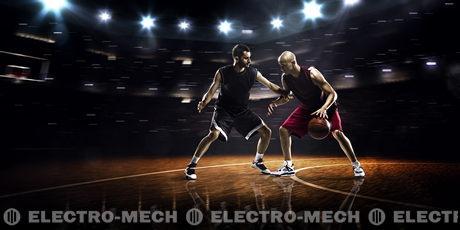 basketbalspelers sportschool basquetebol giocatori pallacanestro court players ação jogadores dois stockafbeelding jogador plk naismith spelers basketbal 103tnn speler sprong