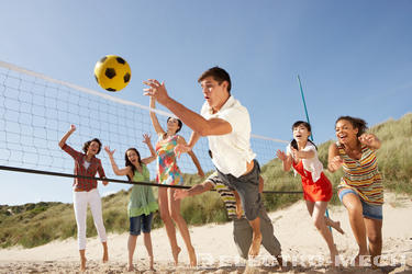 Beach Volleyball – A Glamorous Sport Whose Popularity Is Exploding.