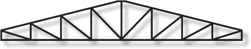 Pitched Top Truss Structure