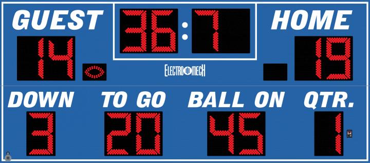 football score - photo #34