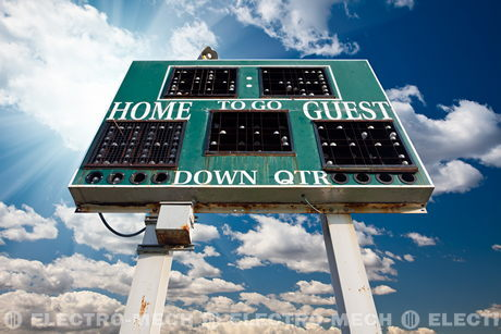 Used scoreboards: how to get quality cheaper than it costs